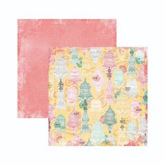 Papel-Scrapbook-WER135-305x305cm-Sunshine-Bliss-Tranquilidade-Bo-Bunny