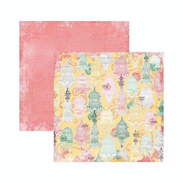 Papel-Scrapbook-WER135-305x305cm-Sunshine-Bliss-Tranquilidade-Bo-Bunny