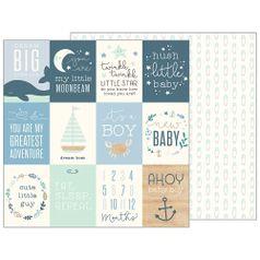 Papel-Scrapbook-WER146-305x305cm-Baby-Boy-Tags-de-Marinheiro-Bo-Bunny