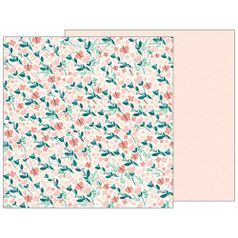 Papel-Scrapbook-WER141-305x305cm-Baby-Girl-Brisa-Quente-Bo-Bunny