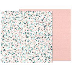 Papel-Scrapbook-WER143-305x305cm-Baby-Girl-Florescer-Bo-Bunny