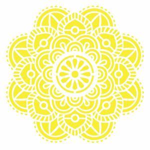 Stencil-Opa-20x25cm-Pintura-Simples-OPA2463-Mandala-Flor-Vitral