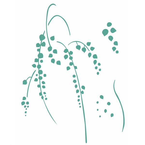 Stencil-Opa-20x25cm-Pintura-Simples-OPA2513-Planta-Suculenta-I