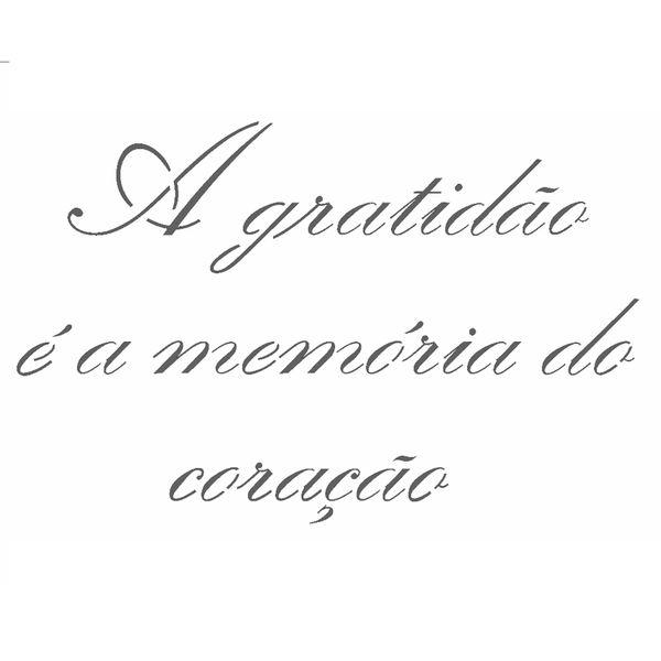 Stencil-OPA-15x20cm-Pintura-Simples-OPA2498-Frase-A-Gratidao