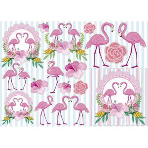 Papel-Decoupage-Litocart-LD-920-34x48cm-Flamingos