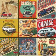 Papel-Scrapbook-Litocart-LSCE-023-305x305cm-Classic-Garage