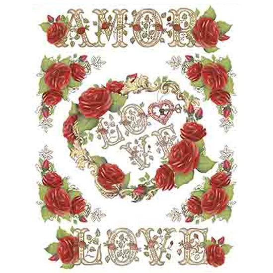 Papel-Transfer-Litoarte-218x284cm-PTG-062-Rosa-Vermelha-Amor