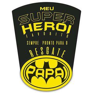 Porta-Recado-com-Ima-e-Mini-Prendedor-Litoarte-IL2-001-9x7cm-Meu-Super-Heroi-Papai