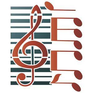 Stencil-Litoarte-14x14cm-Pintura-Simples-STA-104-Partitura-Piano