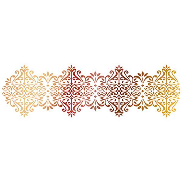 Stencil-Epoca-Litoarte-285x84cm-Pintura-Simples-STE-341-Barrado-Ornamentado