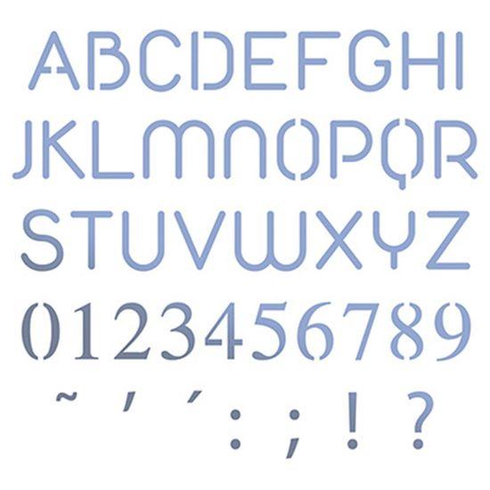 Stencil-Litoarte-10x10cm-Pintura-Simples-STX-349-Alfabeto