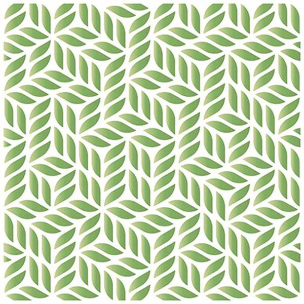Stencil-Litoarte-20x20cm-Pintura-Simples-STXX-072-Estampa-de-Folhinhas