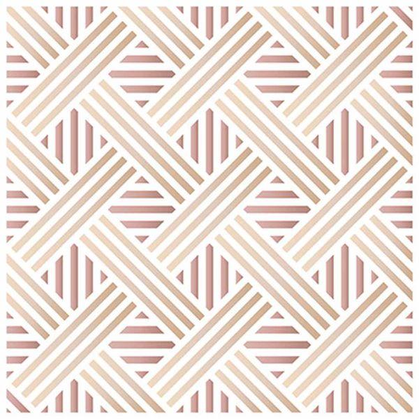 Stencil-Litoarte-20x20cm-Pintura-Simples-STXX-080-Estampa-Geometrica-Entrelacada