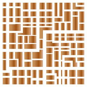 Stencil-Litoarte-20x20cm-Pintura-Simples-STXX-085-Estampa-Geometrica-Retangulos