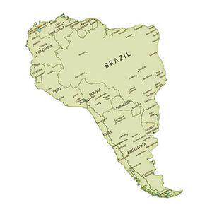 Aplique-Decoupage-Litoarte-APM8-1058-em-Papel-e-MDF-8cm-Mapa-da-America-do-Sul