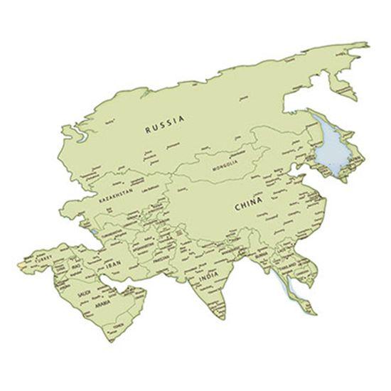 Aplique-Decoupage-Litoarte-APM8-1061-em-Papel-e-MDF-8cm-Mapa-da-Asia