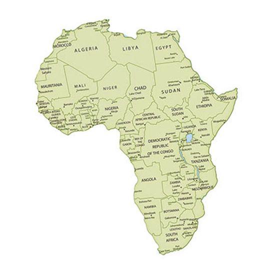 Aplique-Decoupage-Litoarte-APM8-1062-em-Papel-e-MDF-8cm-Mapa-da-Africa