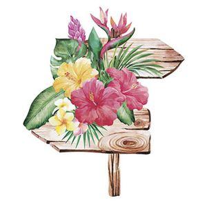 Aplique-Decoupage-Litoarte-APM8-1087-em-Papel-e-MDF-8cm-Flores-Tropicais