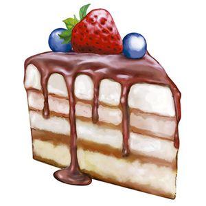 Aplique-Decoupage-Litoarte-APM8-941-em-Papel-e-MDF-8cm-Fatia-Torta-de-Fruta