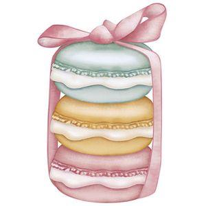 Aplique-Decoupage-Litoarte-APM8-943-em-Papel-e-MDF-8cm-Macarons-Coloridos