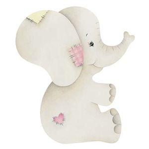 Aplique-Decoupage-Litoarte-APM8-962-em-Papel-e-MDF-8cm-Elefante-Bebe-Menina