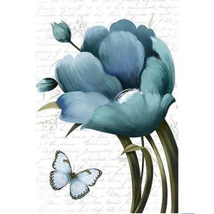 Papel-Decoupage-Arte-Francesa-Litoarte-AF-305-311x211cm-Tulipa-Azul-com-Borboleta