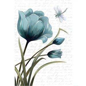 Papel-Decoupage-Arte-Francesa-Litoarte-AF-306-311x211cm-Tulipa-Azul-com-Libelula