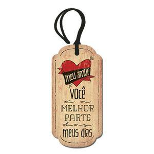 Placa-TAG-MDF-Decorativa-Litoarte-DHT2-071-143x7cm-Meu-Amor