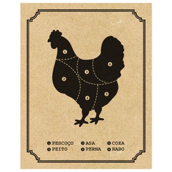 Placa-Decorativa-em-MDF-Impresso-Litoarte-DHPM-397-24x19cm-Cortes-do-Frango