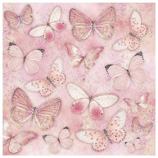 Papel-Scrapbook-com-Gliter-Litoarte-SG-001-305x305cm-Borboletas