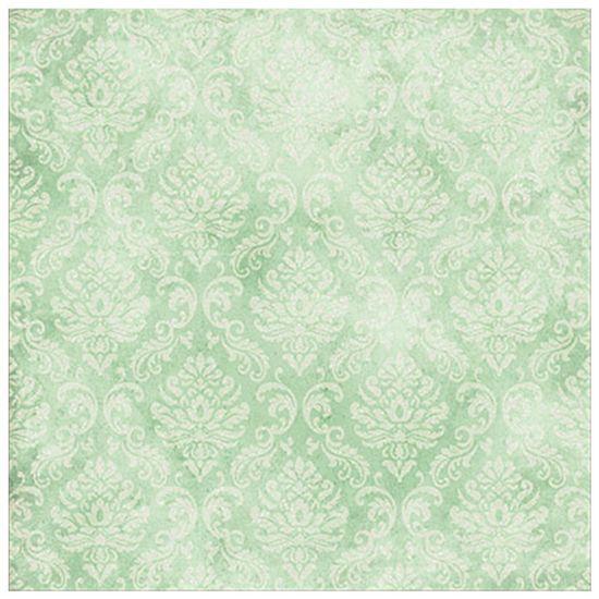 Papel-Scrapbook-com-Gliter-Litoarte-SG-004-305x305cm-Floral-Verde
