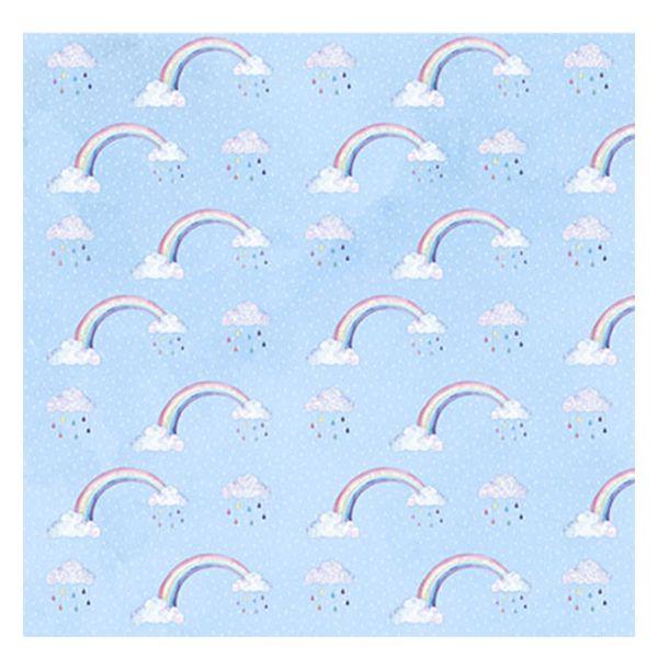 Papel-Scrapbook-com-Gliter-Litoarte-SG-008-305x305cm-Nuvem-e-Arco-Iris