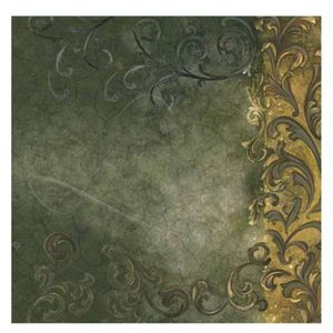 Papel-Scrapbook-Litoarte-305x305cm-SS-009-Arabesco-Envelhecido