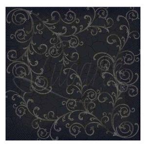 Papel-Scrapbook-Litoarte-305x305cm-SS-010-Arabescos-Fundo-Preto