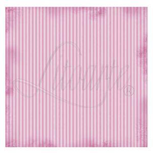 Papel-Scrapbook-Litoarte-305x305cm-SS-016-Listrado-Rosa