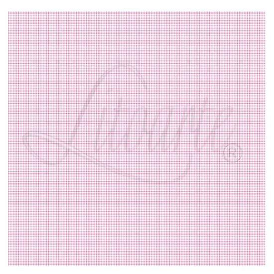 Papel-Scrapbook-Litoarte-305x305cm-SS-039-Xadrez-Rosa