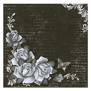 Papel-Scrapbook-Litoarte-305x305cm-SS1-003-Rosa-Preto-e-Branco-by-Lili-Negrao