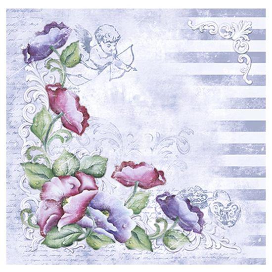 Papel-Scrapbook-Litoarte-305x305cm-SS1-006-Flor-Provencal-by-Lili-Negrao