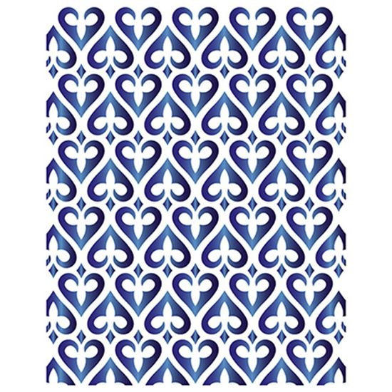 Stencil-Litoarte-211x172cm-Pintura-Simples-STM-645-Estampa-de-Coracoes-Arabescados