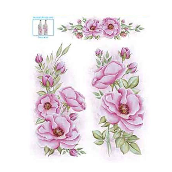 Decalque-Decorativo-Litoarte-DQ1-024-Rosa-Silvestre-by-Lili-Negrao