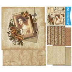 Kit-Papel-Scrap-Decor-Litoarte-KSD-005-305x305cm-6-Folhas-Sortidas-Mulher-e-Rosas