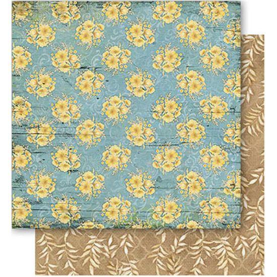 Papel-Scrapbook-Litoarte-SD1-050-305x305cm-Padrao-Flores-Amarelos-by-Lili-Negrao