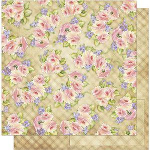 Papel-Scrapbook-Litoarte-SD1-063-305x305cm-Padrao-de-Rosas-by-Lili-Negrao
