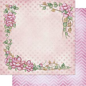 Papel-Scrapbook-Litoarte-SD1-072-305x305cm-Arranjo-de-Flores-by-Lili-Negrao
