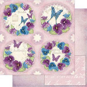 Papel-Scrapbook-Litoarte-SD1-073-305x305cm-Flor-Amor-Perfeito-by-Lili-Negrao