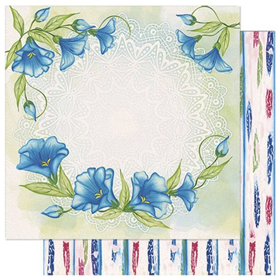 Papel-Scrapbook-Litoarte-SD1-077-305x305cm-Flores-Azuis-by-Lili-Negrao