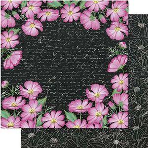 Papel-Scrapbook-Litoarte-SD1-084-305x305cm-Margaridas-Rosas-by-Lili-Negrao