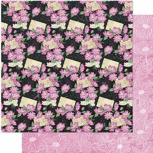 Papel-Scrapbook-Litoarte-SD1-085-305x305cm-Padrao-Margaridas-Rosas-by-Lili-Negrao