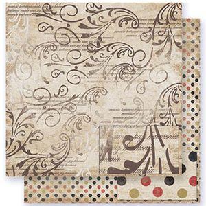 Papel-Scrapbook-Litoarte-SD-251-305x305cm-Arabescos-e-Frases
