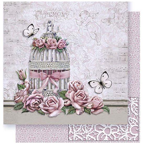 Papel-Scrapbook-Litoarte-SD-373-305x305cm-Gaiola-e-Rosas